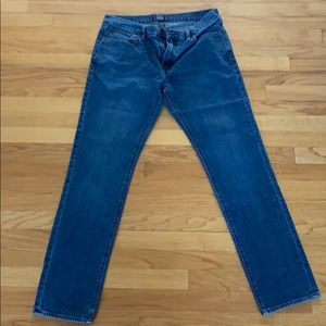 Jcrew The Driggs Jeans Size 33x32
